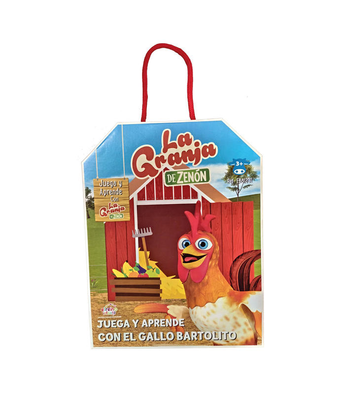 Play And Learn With Rooster Bartolito Toy Store