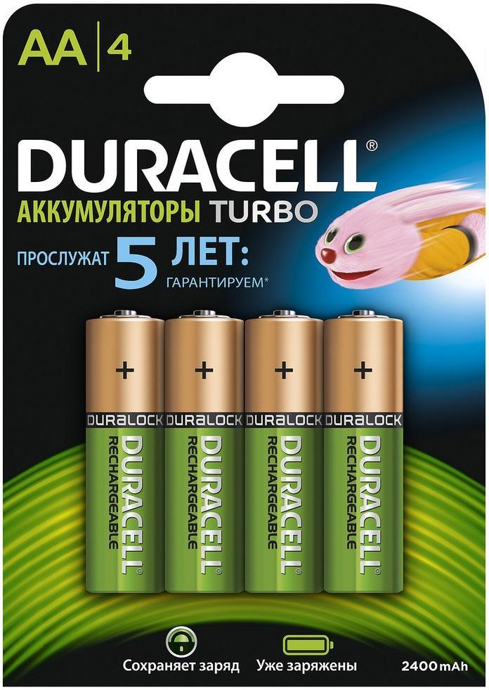 Battery DURACELL HR6-4BL Б0014863