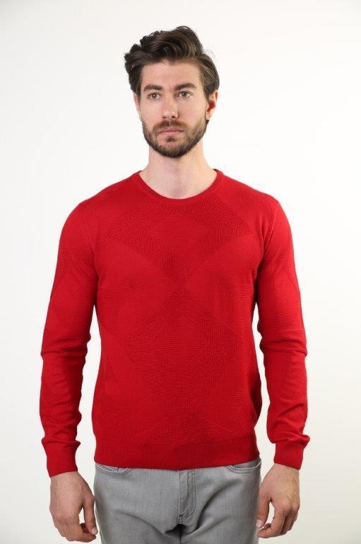 Sweater Bike Collar Men Sweater 2615