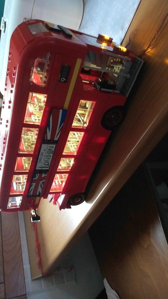 -- Londres Ônibus Construção