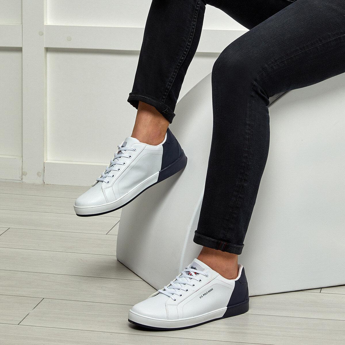 FLO LEXI White Male Sneaker U.S. POLO ASSN.