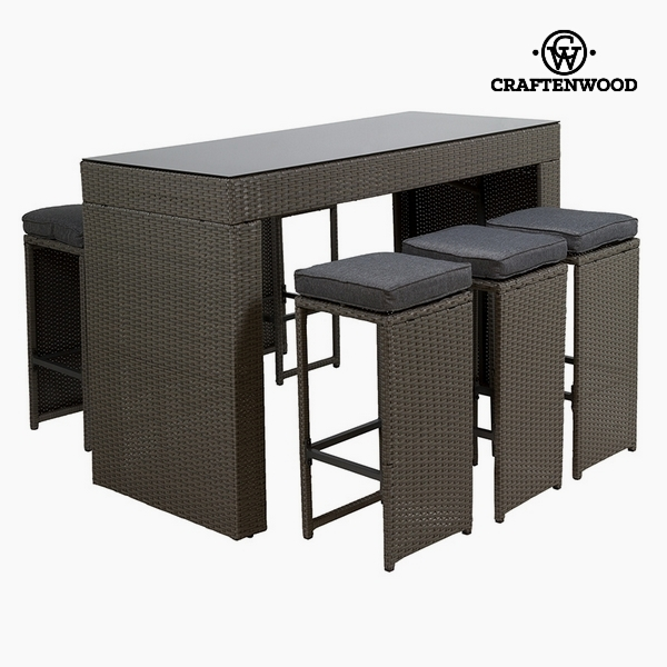 Garden Furniture Synthetic Rattan (150 X 70 X 104 Cm) By Craftenwood