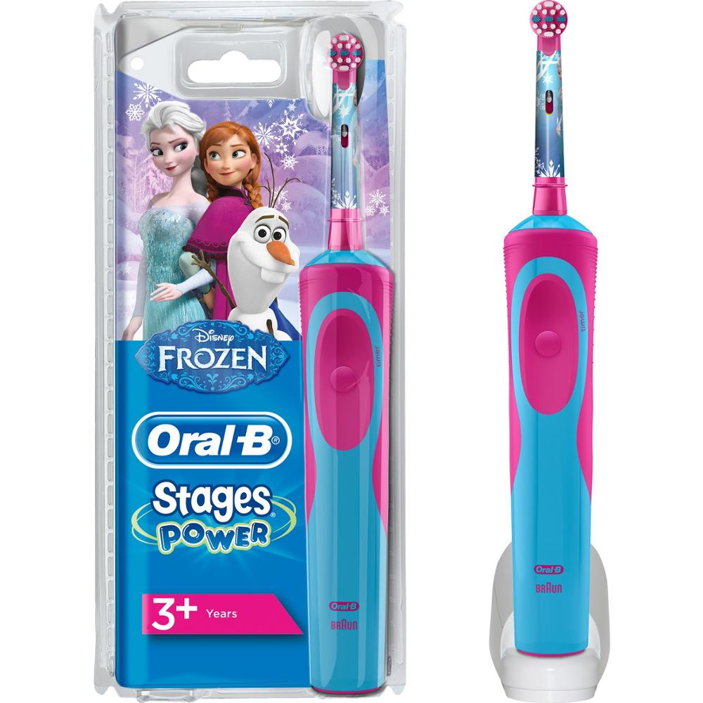 Oral-B Frozen Rechargeable Toothbrush for Kids (3+ Age) image