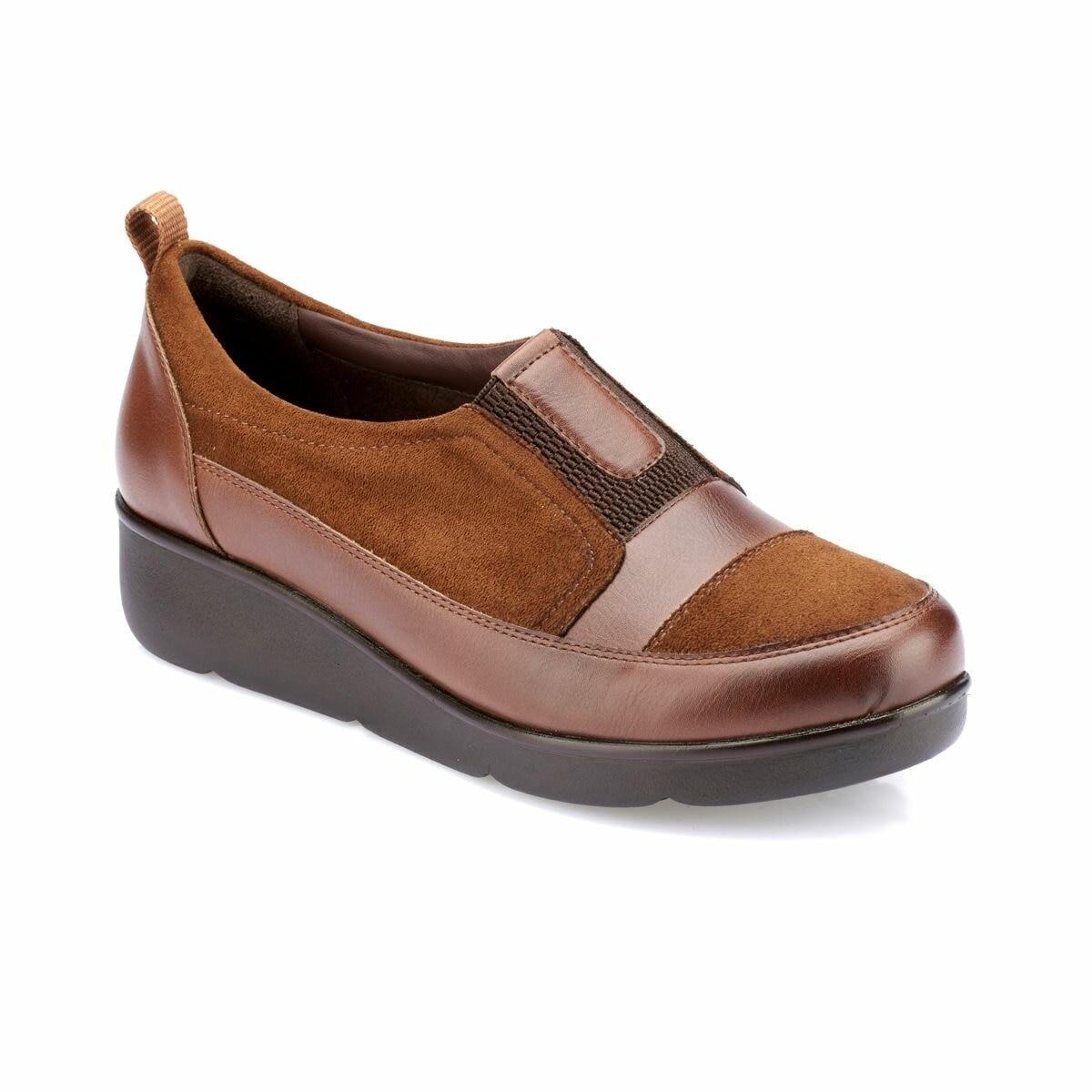 FLO 82.100114.Z Tan Women 'S Shoes Polaris 5 Point