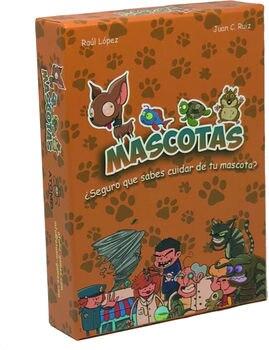 MASCOTAS. EL JUEGO DE CARTAS