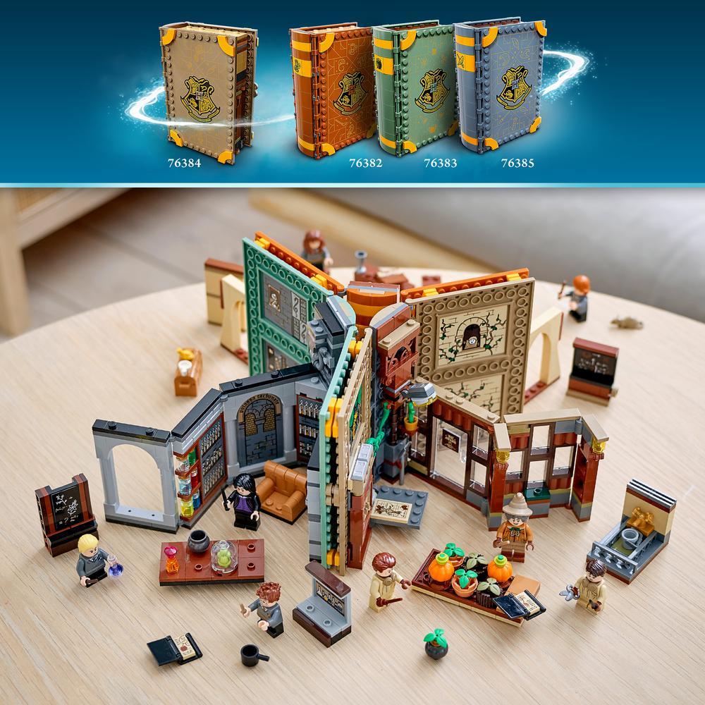 LEGO Harry Potter TM Momento Hogwarts: Clases de Transfiguración 76382, Pociones 76383, Herbología 76384 y Encantamientos 76385 Bloques  - AliExpress