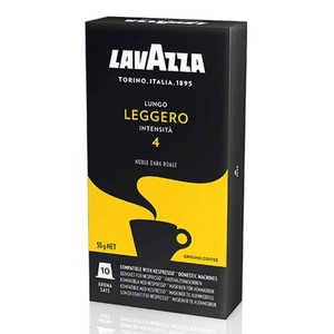 Lungo LEGGERO, 10 LAVAZZA capsules compatible nespresso