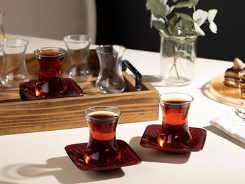 drinking water glass 6 pieces home colored juice glass tea drink 250 ml 300 ml 470 ml creative embossing cup european pink blue Lorna Glass 12 Piece Tea Set 6 Tea Glasses 6 Tea Glasses Saucer 100 Ml  claret red Turkish traditional tea glass