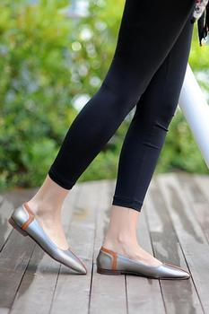 Różowy Potin kobiety platynowe buty B4017-20 tanie i dobre opinie Pembe Potin Oksfordzie TR (pochodzenie) Sztuczna skóra Gumką Pasuje prawda na wymiar weź swój normalny rozmiar Na co dzień