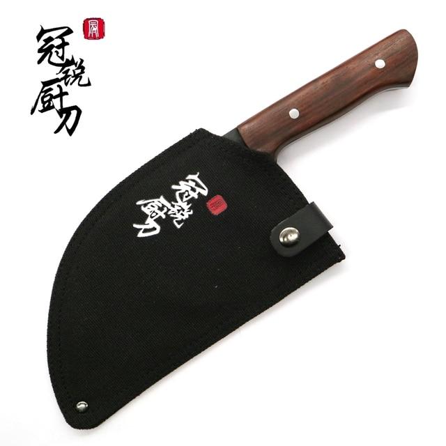 El yapımı çin Cleaver çevre dostu mutfak bıçak dilimleme doğrama şef bıçağı manganez el dövme çelik ev pişirme araçları