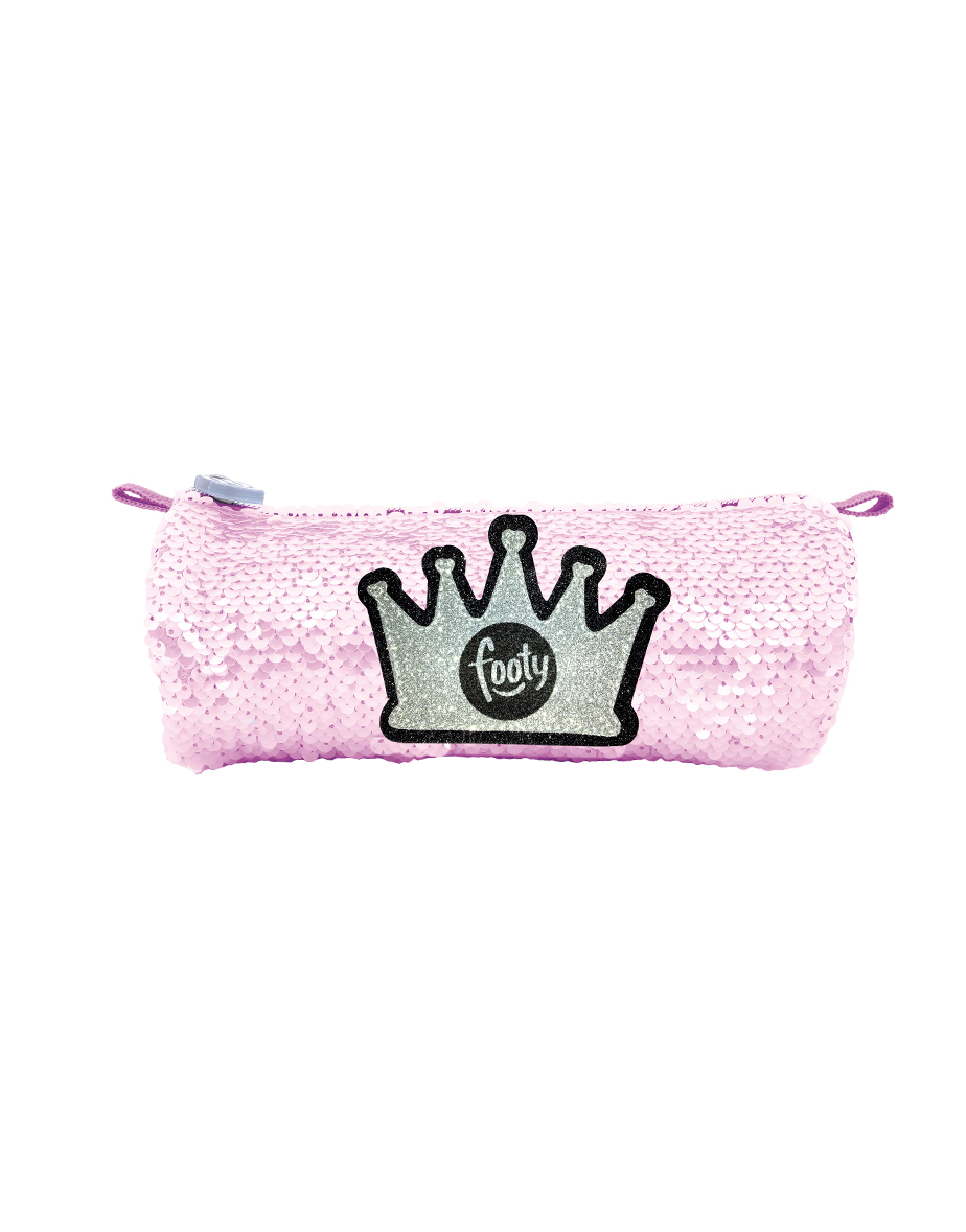 FOOTY Case Crown Pink Sequin