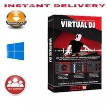Программное обеспечение для контроллера микшера virtual DJ Pro Infinity 2021 8.5.6
