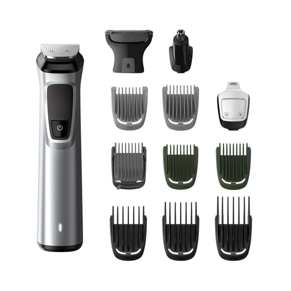 Philips Professional 13 in 1 Man Grooming Kit Mg7715/15 – Great for Barbers and Stylists – Run Time Cordless 120 Minutes Over image