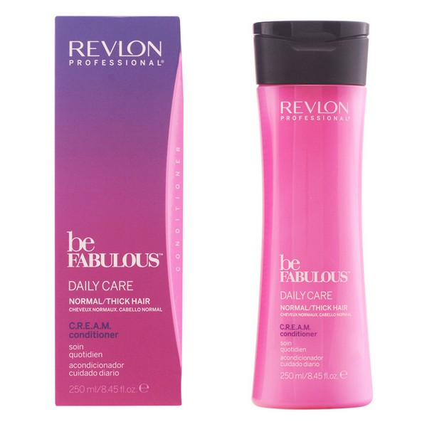 Nourishing Conditioner Be Fabulous Revlon (250 Ml) Normal Hair