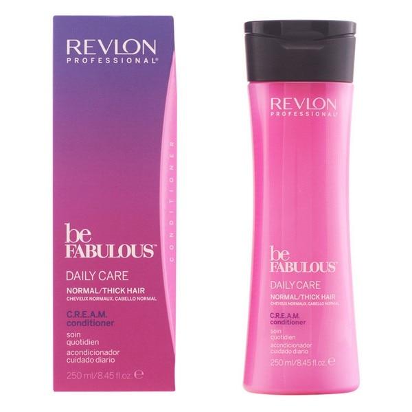 Nourishing Conditioner Be Fabulous Revlon (250 Ml) Normal Hair