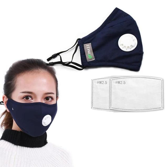 Anti Pollition N95 / PM 2.5 Real Mask – Real Corona Filter Mask Dust Respirator Washable Reusable Masks Cotton Unisex Mouth Mask