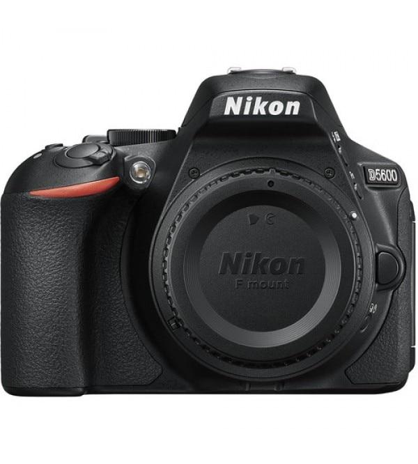 Nikon D5600 DSLR Camera -24.2MP -Full HD 1080p -Wi-Fi Bluetooth Camera Body Only