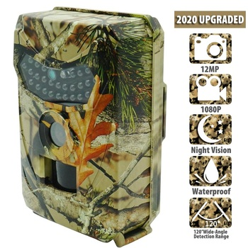 Outdoor Hunting Trail Camera 12MP New Wild Animal Detector Cameras HD Waterproof Monitoring Infrared Cam Night Vision Photo Trap 1