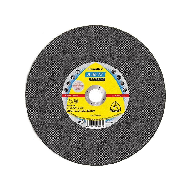 Circle Cutting KLINGSPOR 230х2х22 Kronenflex A 36 TZ SPECIAL