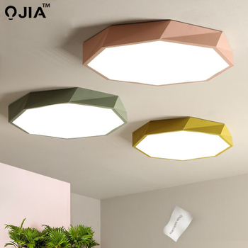 Led tavan ışık Macaron beş renk iç mekan aydınlatması tavan lamba aksesuarı oturma odası yatak odası için sadece yükseklik 6cm