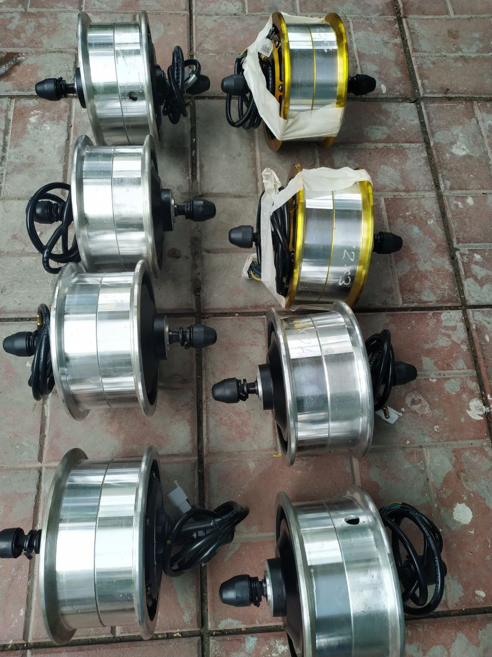 Electro Scooter Motor Wheel 3000w-3500w, For Electro Scooter