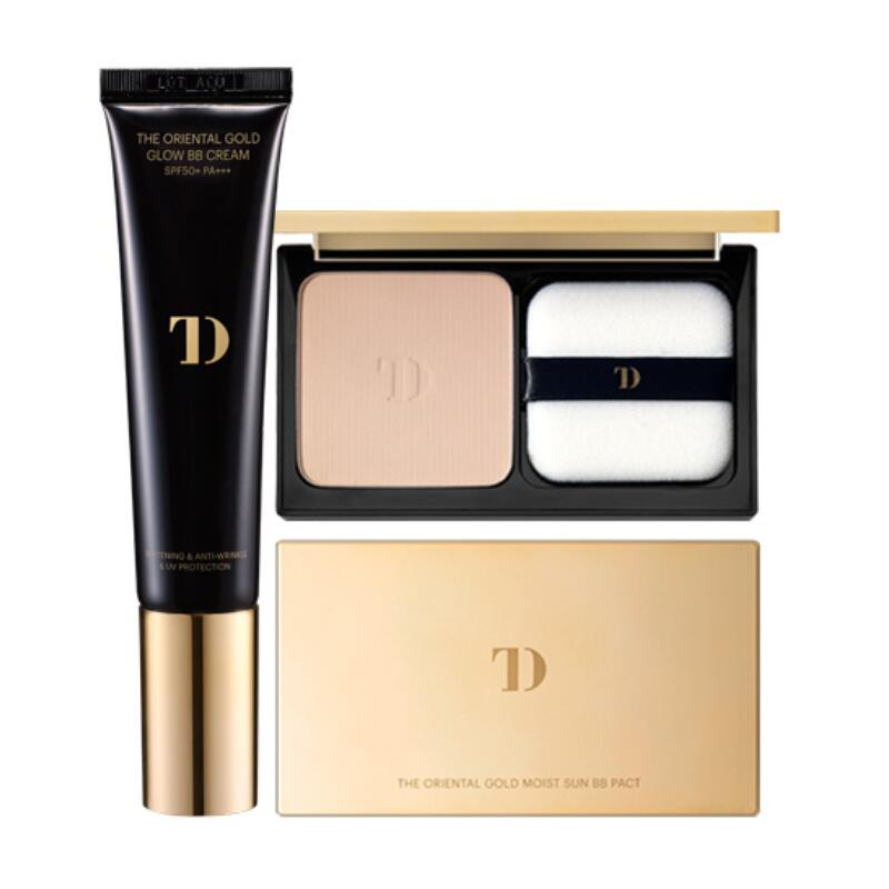 BB Cream&Pact Set- The Oriental Gold Glow BB Cream SPF50+ PA + Gold Glow Pact [Set]  Skin79 Make Up Korea Make-up Korea Cosmetic