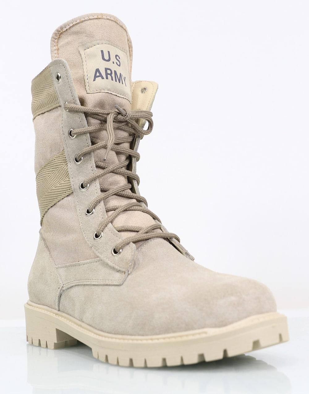 US Army Boots Military Leather Men's Boots