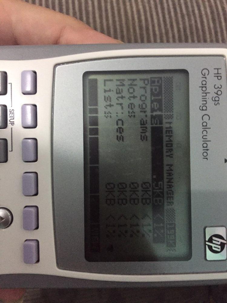 -- Hp39gs Hp39gs Calculadora