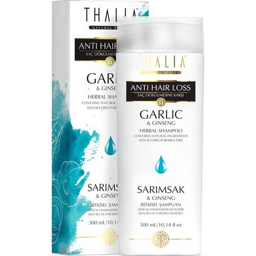 Thalia Garlic And Ginseng Essence Hair Loss Effective Care Shampoo 300 Ml