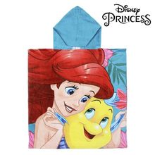 Poncho-Toalla con Capucha Little Mermaid Princesses Disney 74218()