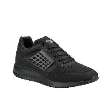 FLO OWEN czarne męskie buty sportowe KINETIX tanie i dobre opinie Sztuczna skóra