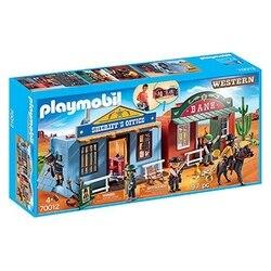 Playset Western City Case Playmobil 70012 (97 pcs)