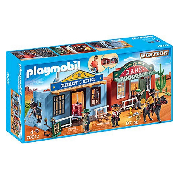 Playset Western City Case Playmobil 70012 (97 pièces)
