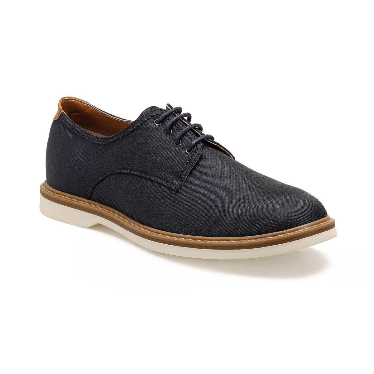 FLO 61120 Navy Blue Men 'S Dress Shoes JJ-Stiller