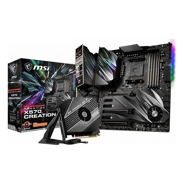 Gaming Motherboard MSI Prestige X570 eATX DDR4 AM4