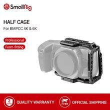 SmallRig BMPCC 4K 6K media jaula para Blackmagic Design Pocket Cinema Camera Cage con Nato Rail/ANCI Locating Hole/Could Shoe 2254