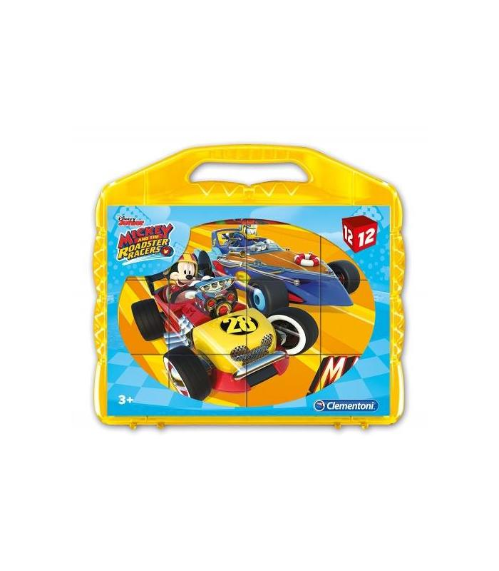 Mickey Suitcase 12 Cubes Toy Store