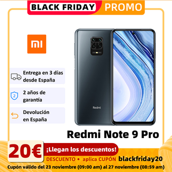 Xiaomi Redmi Note 9 Pro Smartphone (6GB RAM 64GB ROM Mobile Phone Free New Android Battery 5020mAh)[Global Version]