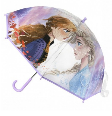 Clear Bubble Umbrella Frozen Disney Handbook 45 Cm.