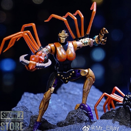 [Show.Z Store] Transform Element TE MM001 TE-MM001 Blackarachnia Transformation Action Figure