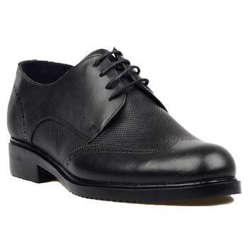FootCourt- Black Genuine Leather Shoe Dress Shoes For Men Formal Business Man Footwear Derby Shoes Men Lace Up Party office Shoe derby shoes men genuine leather luxury brand handmade vintage retro office formal party wedding dress shoes men