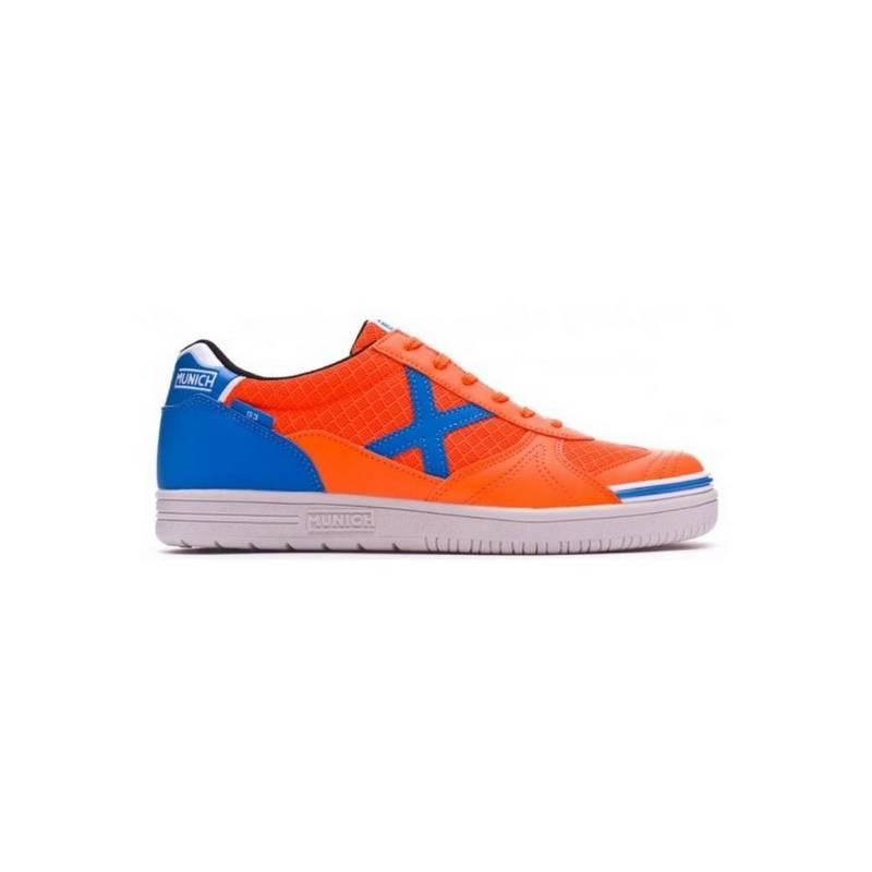Sneakers Futsal Adult Munich G3 Orange