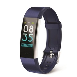 Activity bracelet muvit io health tensio lite Blue-lcd color touch 2.44 cm - bt 4.0-heart rate monitor-Blood pressure-
