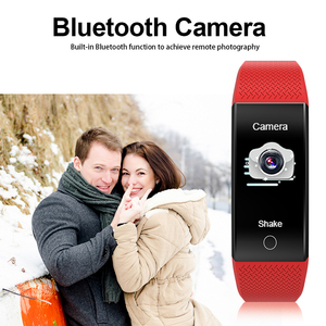 Image 2 - 2020 Body Temperature Smart Bracelet IP68 Waterproof Heart Rate Monitor Smartband Fitness Health Tracker Wristband Band Sports