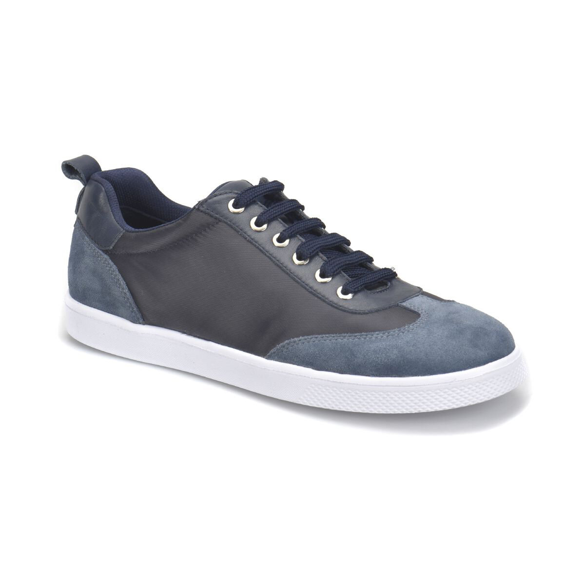 FLO Navy Blue Men Casual Shoes Spring Autumn Casual Flat Shoes Lace-up Low Top Male Sneakers Tenis Masculino Adulto Shoes Panama Club PR-300