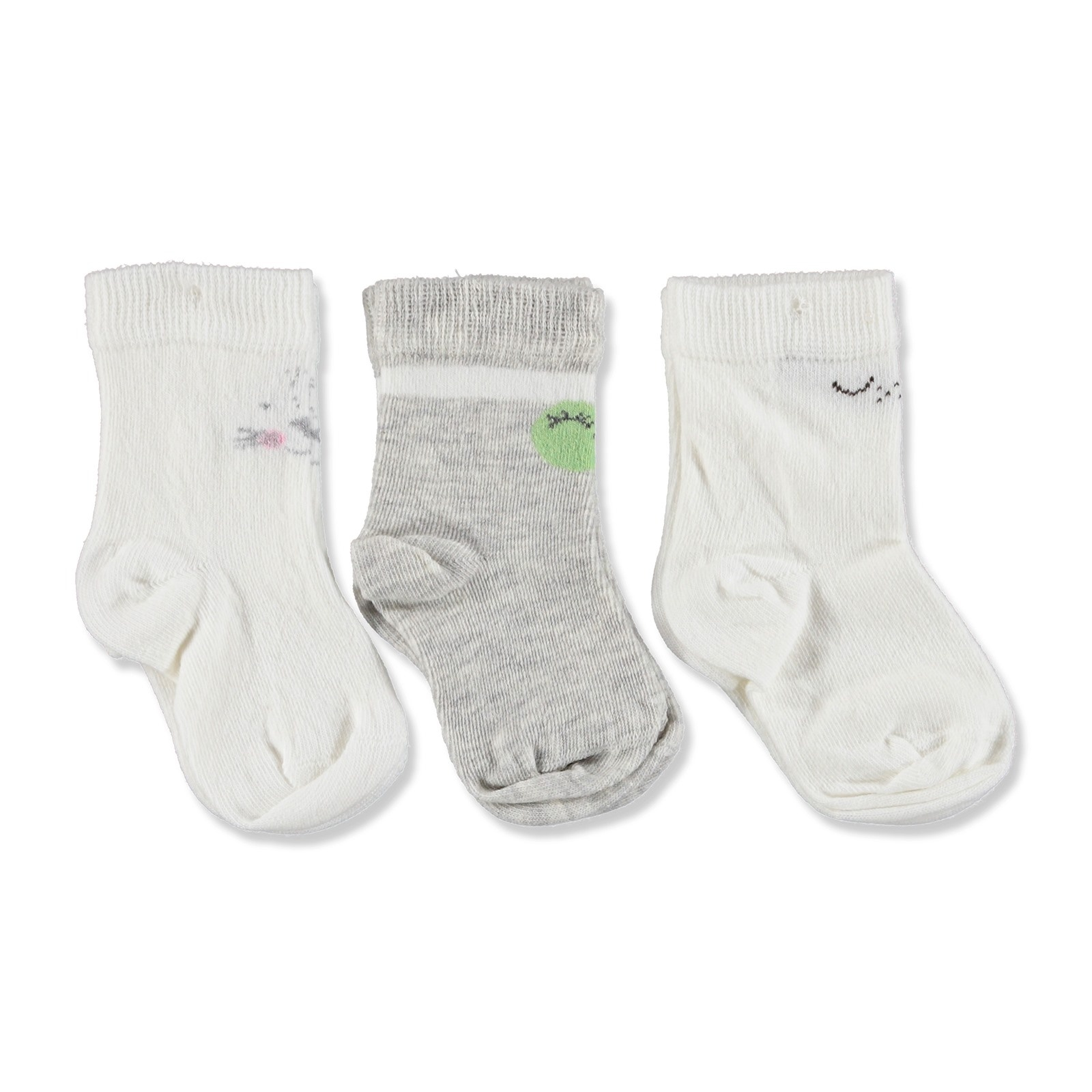 Ebebek Aziz Bebe Baby Socks 3 Pack