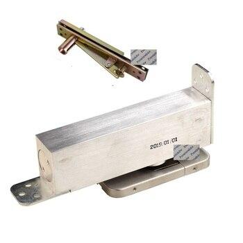 2 Stage Adjusting Face Mount Floor Closer Spring Hinge Wooden Aluminum Frame Door Conceal Pivot Mortise