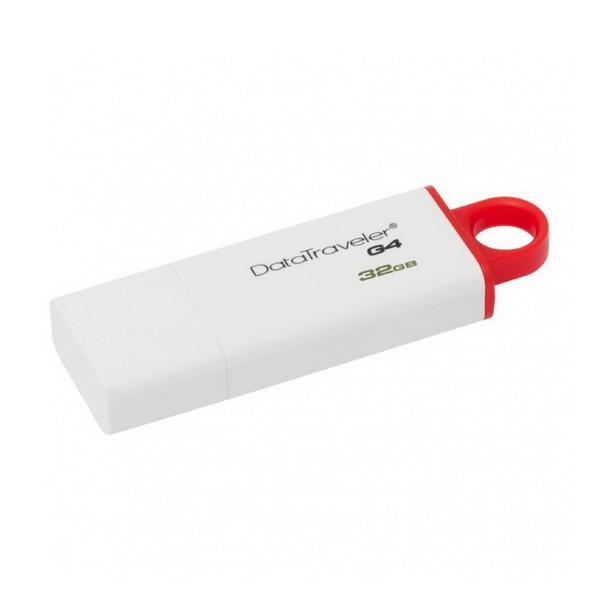 Pendrive Kingston FAELAP0240 DTIG4 32 GB USB 3.0 White Red USB Flash Drives Computer & Office - title=