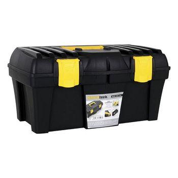 цена Toolbox Bricotech Black Yellow (46 X 25,7 x 22,7 cm) онлайн в 2017 году