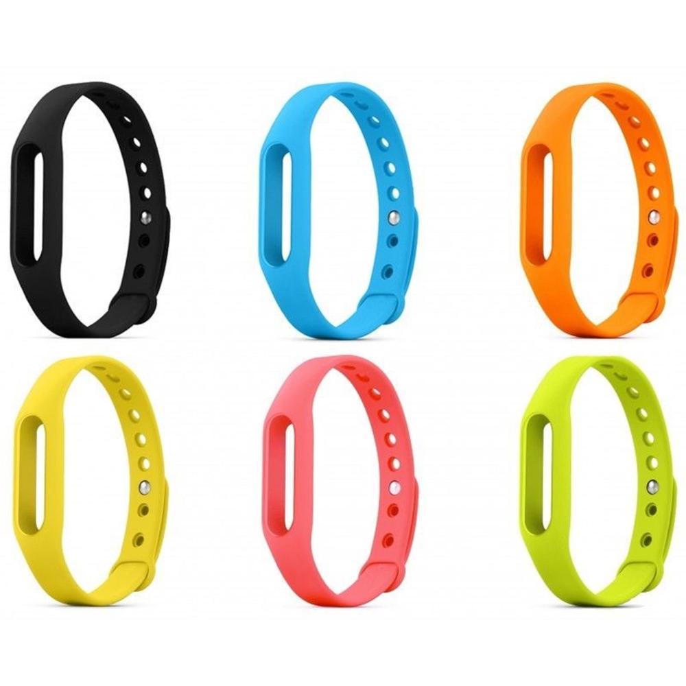 Recambio De Correa Deportiva Silicona Para Pulsera Muñeca Reloj Xiaomi Mi Band 3 Elige Color